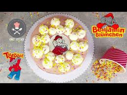 benjamin blümchen torte ganz einfach selber machen rezept