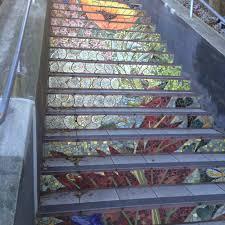 16th Avenue Tiled Steps In San Francisco by Steps U2013 Heidi M Kim