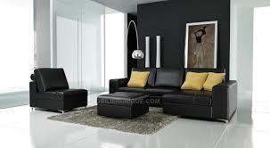 pouf pour canapé canapé d angle en cuir avec pouf et siege amovible modèle cole