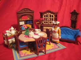 playmobil wohnzimmer 5316 nostalgie puppenhaus rosa serie