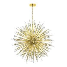 Eglo Vivaldo 50 Light Gold Chandelier