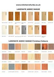 Asdec Laminate Range Style Colours