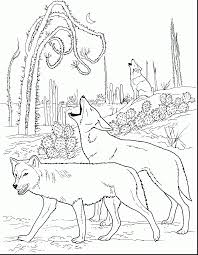 Incredible Adult Wolf Coloring Pages With And Online