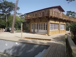 maison en bois cap ferret extension bois d une maison au cap ferret avec étanchéité par toit