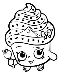 Shopkins clipart cupcake queen