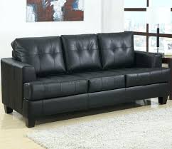 leather corner sofa bed ikea faux with storage black sectional