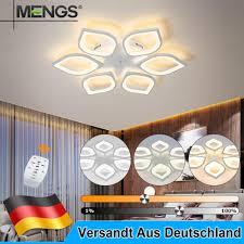 48w deckenleuchte deckenle kronleuchter dimmbar le leuchte wohnzimmer weiß
