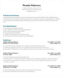 Resume Samples For Administrative Assistant Position Receptionist Outline