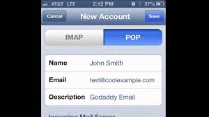 How to set up POP email on an iPhone iPad or iPod Touch iOS