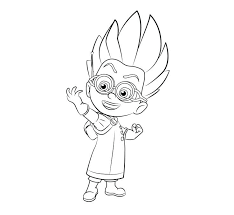 Pj Masks Coloring Pages Printable For New To