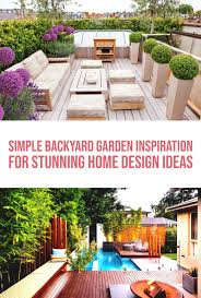 100 Garden Home Design Best 8 Simple Backyard Inspiration For Stunning