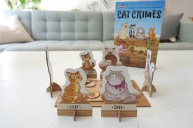cat crimes brettspiel thinkfun im test auf mamaskind