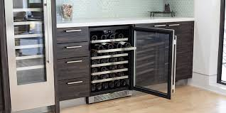 Tresanti Wine Cabinet With 24 Bottle Cooler by Who Says A Wine Refrigerator Has To Look Like A Refrigerator