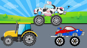 Cow Truck Get Clean In Car Wash - And More Videos For Kids - YouTube Police Monster Truck Children Cartoons Videos For Kids Youtube Big Mcqueen Truck Monster Trucks For Children Kids Video Racing Game On The App Store Spiderman Vs Venom Taxi Hot Wheels Jam Grave Digger Shop Cars Jam 28 Images Trucks Coloring Learn Colors Learning Races Cartoon Educational Collection Games Blaze Toy Fire Crash Blaze Machines Track