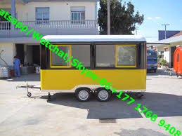 China Street Mobile Food Cart Mobile Food Truck/ Hot Dog Snack Car ...