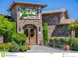 The Olive Garden Restaurant Editorial Stock Image Image of