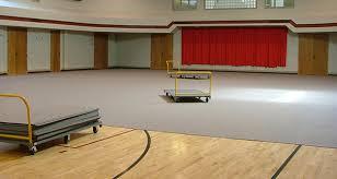 Flooring Gym Floor Covers Basketball Court Tarps Solid Plastic Carpetdeck 20banner1 605x322 2 Tiles To Protect Hardwood