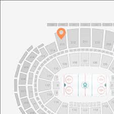 Madison Square Garden Section 213 Seat View