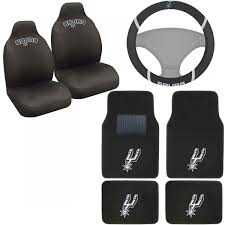 Betty Boop Seat Covers And Floor Mats by New Nba San Antonio Spurs Car Truck Seat Covers Floor Mats