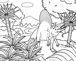 Printable Dinosaur Coloring Pages For Cool2bkids