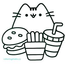 Coloring Pages Kawaii Awesome The Best Cute