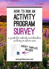 A Guide For Activity Coordinators Working In Senior Care Ask Your Clients Feedback Regarding