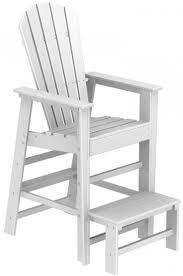 tall lifeguard chair plans