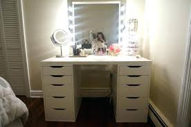 Diy Vanity Desk With Lights by Diy Vanity Table Mirror With Lights White Quirky Lighting Large