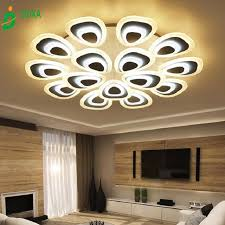 Modern Style Simplicity Acrylic LED Ceiling Lamp Flush Mount Living Room Dining Bedroom Kid