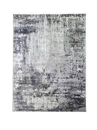 kurzflor teppich wohnzimmer grau modern läufer flur küche hellgrau