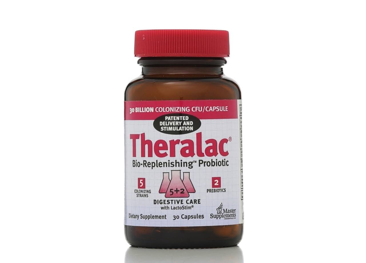 Master Theralac Dietary Supplement - 30 Capsules