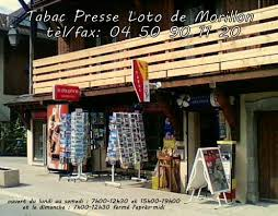 bureau de tabac bureau de tabac presse office de tourisme de morillon