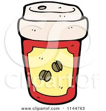 450x470 Yellow Coffee Cup Clipart