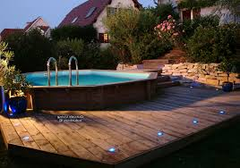 terrasse bois piscine semi enterree us67 jornalagora
