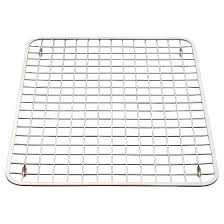 interdesign gia stainless steel sink grid polished chrome large