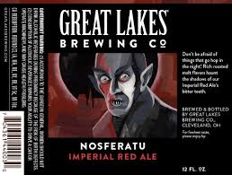 Jolly Pumpkin La Roja Du Kriek by Great Lakes Brewing Nosferatu Amazing Beer Labels Art
