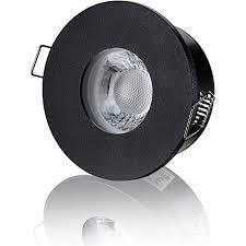 lambado led spots für badezimmer ip65 in schwarz moderne