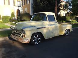 100 1957 Truck Awesome Chevrolet Other Pickups Standard Chevy Custom