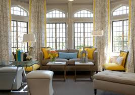 pleasing color schemes yellow grey white and taupe home