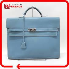 Hermes Briefcase Kelly