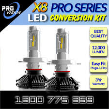 led headlight bulbs x8 pro conversion kit upgrade for headls