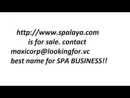 SPA Domain Name Brand Ideas NAMES For Sale
