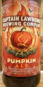 Ichabod Pumpkin Beer Calories by Pumpkin Ale Captain Lawrence Brewing Co Beeradvocate