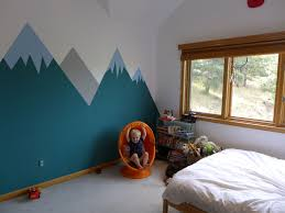 alex s bedroom painting the mural
