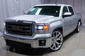 Custom Lowered | One Owner | Free Carfax | 2015 GMC Sierra 1500 SLE ...