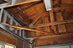 Hanging Drywall On Ceiling Trusses by Finishing Garage Need To Install Ceiling Around Existing Garage