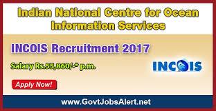 INCOIS Recruitment 2017 Junior fice Assistant Posts Sal Rs