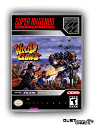 Wild Guns SNES Super Nintendo Game Case Box Cover Brand New ...
