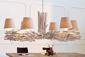 hängele esstisch wohnzimmer designerleuchte aus echtem