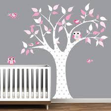 stickers chambre bébé arbre charmant stickers arbre chambre bébé avec les enfants wall